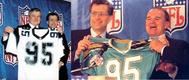 Jerry Richardson and Wayne Weaver led the efforts to win the 29th and 30th NFL franchises. These efforts were years in the making before the NFL awarded franchises to Carolina and Jacksonville.